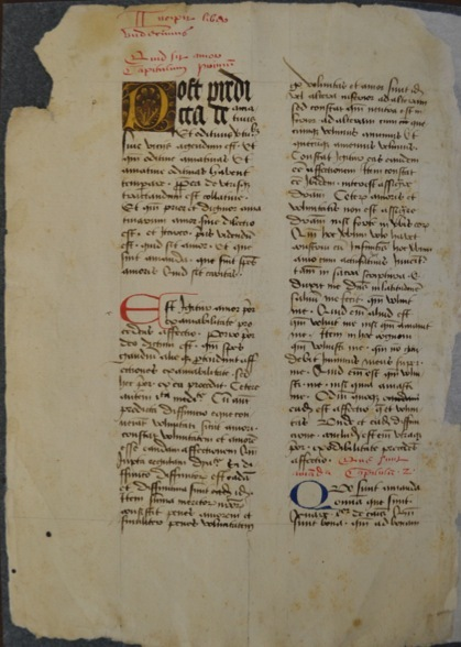Iowa City, IA: The University of Iowa, Special Collections, xMMs.Misc4, fol. 1v